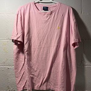 Pink polo tee